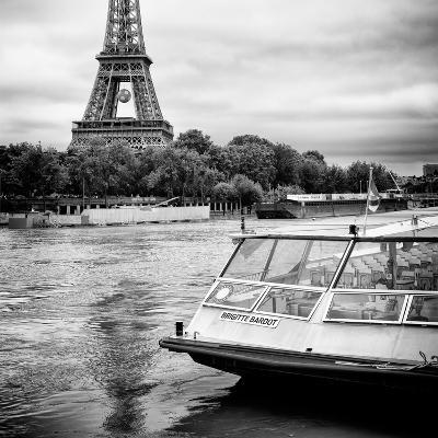 Paris sur Seine Collection - BB Boat III-Philippe Hugonnard-Photographic Print