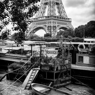 Paris sur Seine Collection - Eiffel Boat I-Philippe Hugonnard-Photographic Print