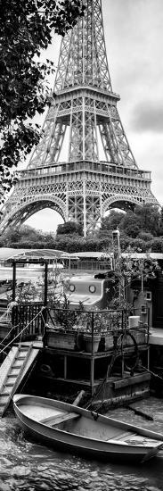 Paris sur Seine Collection - Eiffel Boat II-Philippe Hugonnard-Photographic Print