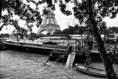 Paris sur Seine Collection - Eiffel Boat III-Philippe Hugonnard-Photographic Print
