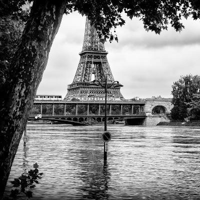Paris sur Seine Collection - Eiffel Bridge III-Philippe Hugonnard-Photographic Print