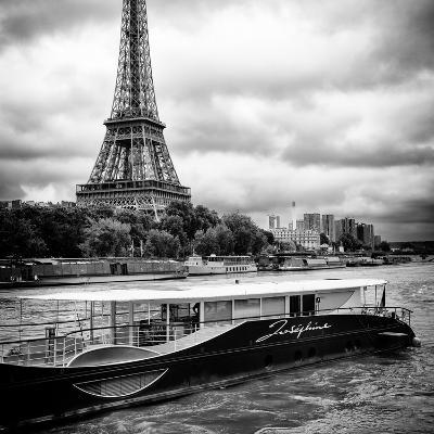 Paris sur Seine Collection - Josephine Cruise I-Philippe Hugonnard-Photographic Print