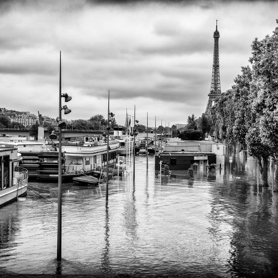 Paris sur Seine Collection - Morning on the Seine II-Philippe Hugonnard-Photographic Print