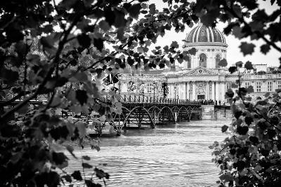 Paris sur Seine Collection - Pont des Arts and French Academy-Philippe Hugonnard-Photographic Print
