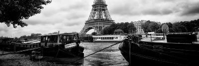 Paris sur Seine Collection - The Eiffel Tower and the Quays II-Philippe Hugonnard-Photographic Print