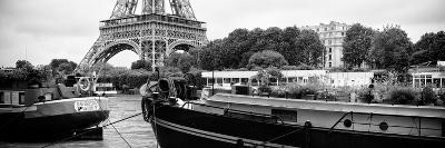 Paris sur Seine Collection - The Eiffel Tower and the Quays XVII-Philippe Hugonnard-Photographic Print