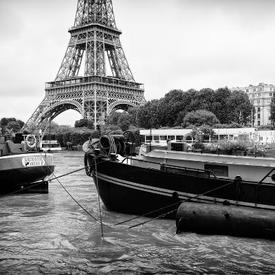 Paris sur Seine Collection - The Eiffel Tower and the Quays XVIII-Philippe Hugonnard-Photographic Print