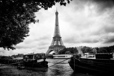 Paris sur Seine Collection - The Eiffel Tower and the Quays-Philippe Hugonnard-Photographic Print