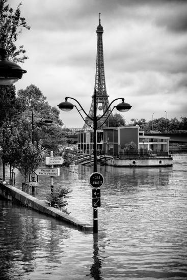 Paris sur Seine Collection - Trocadero Concorde-Philippe Hugonnard-Photographic Print