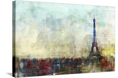 Paris Tango-Kay Daichi-Stretched Canvas Print