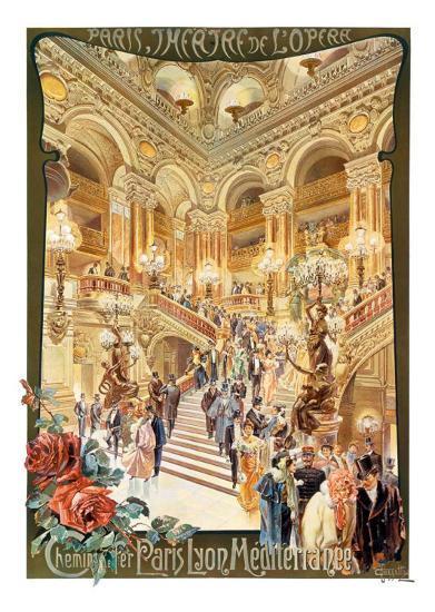 Paris, Theatre de l'Opera--Art Print