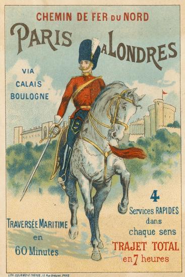 Paris to London--Giclee Print