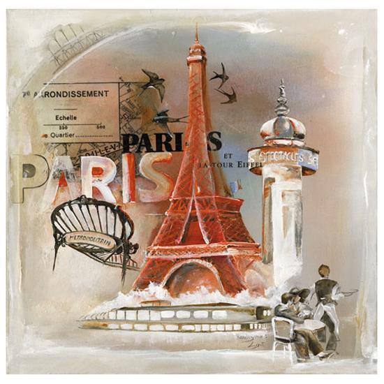 Paris Tour Eiffel-Lizie-Art Print
