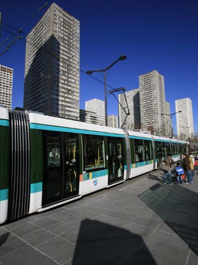 Paris Tramway, Paris, France, Europe-Godong-Photographic Print