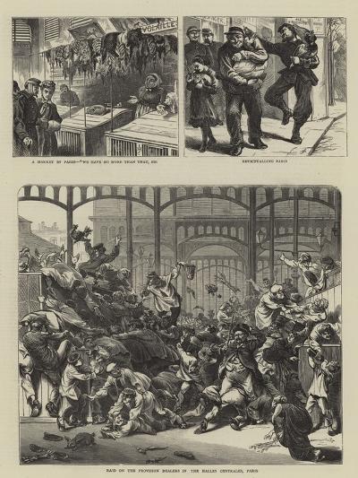 Paris Transformed--Giclee Print