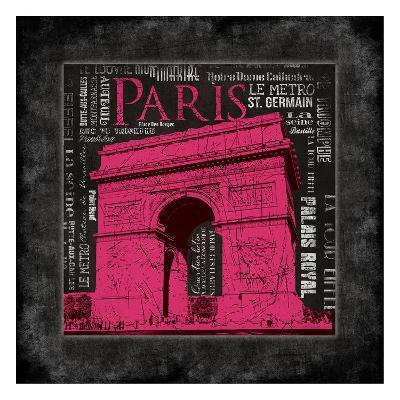 Paris Type II-Jace Grey-Art Print