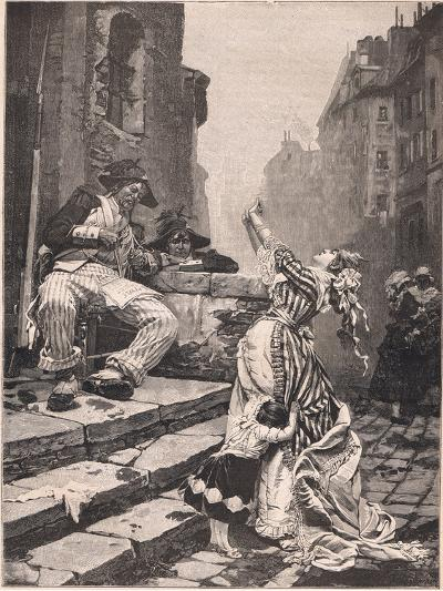 Paris under the Reign of Terror: a Vain Appeal-Pavel Alexandrovich Svedomsky-Giclee Print