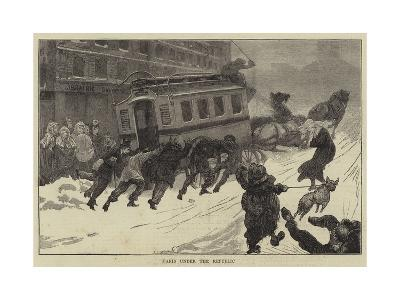 Paris under the Republic--Giclee Print
