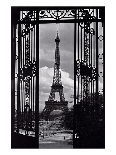 Paris View--Art Print