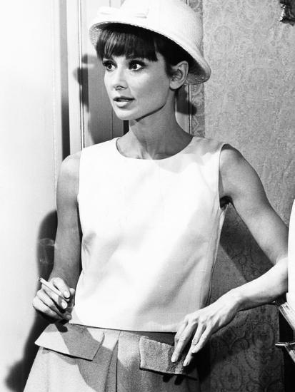 Paris When it Sizzles, Audrey Hepburn, 1964--Photo