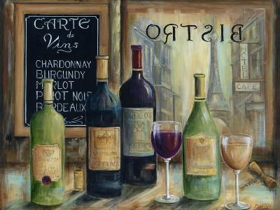Paris Wine Tasting-Marilyn Dunlap-Art Print