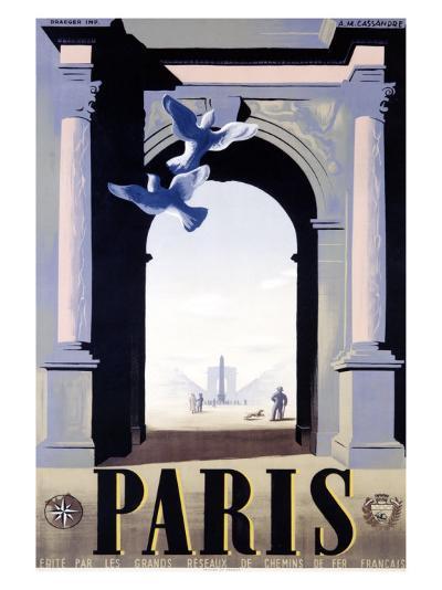 Paris-Adolphe Mouron Cassandre-Giclee Print