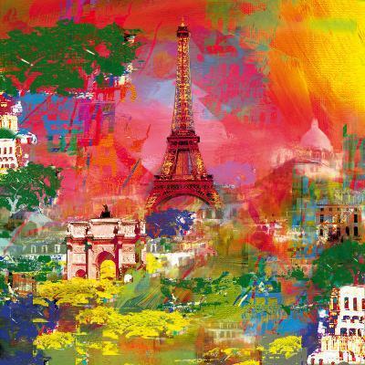 Paris-Robert Holzach-Art Print