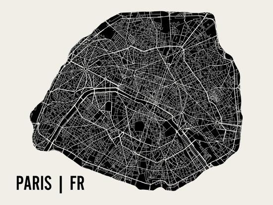 Paris-Mr City Printing-Art Print
