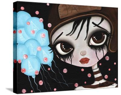 Paris-Dottie Gleason-Stretched Canvas Print