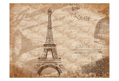 Paris-Jace Grey-Art Print