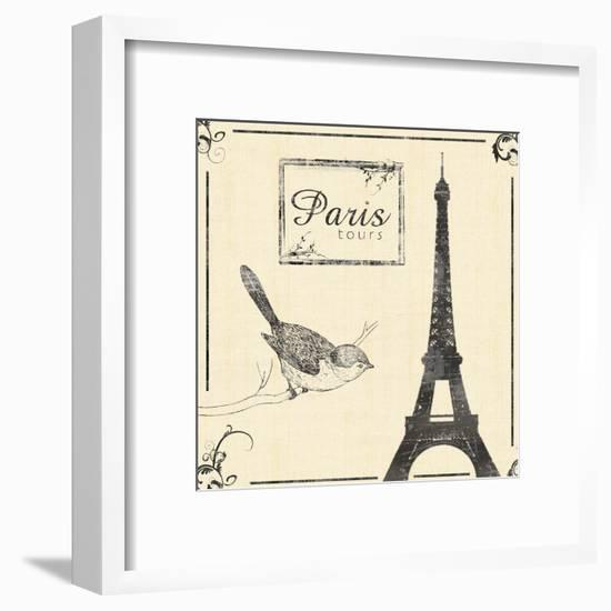 Paris-Lauren Gibbons-Framed Art Print