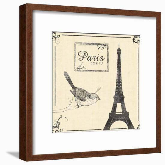 Paris-Lauren Gibbons-Framed Art Print