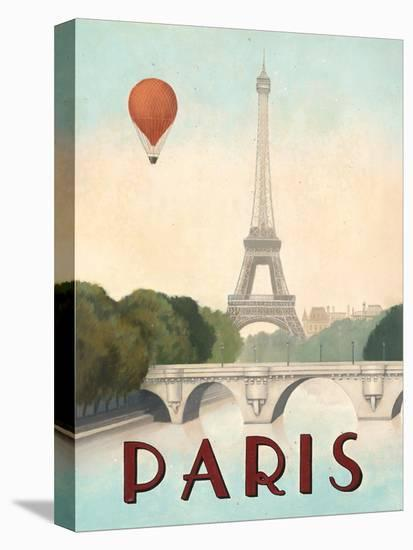 Paris-Marco Fabiano-Stretched Canvas Print