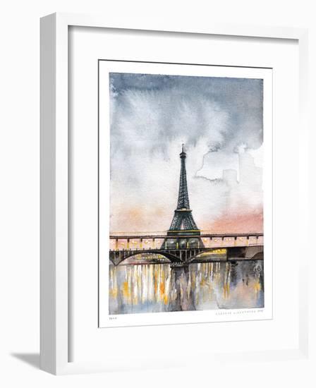 Paris-Claudia Liebenberg-Framed Giclee Print