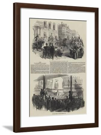 Paris--Framed Giclee Print