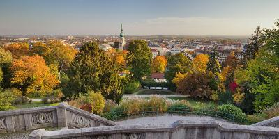 Parish Church, Kurpark, Beethoven's Temple, Baden Near Vienna, Lower Austria, Austria-Rainer Mirau-Photographic Print