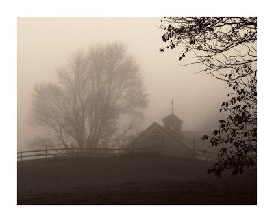 Parish Hill Barn-Christine Triebert-Art Print