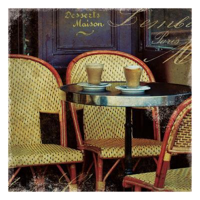 Parisian Cafe I-Wild Apple Photography-Art Print
