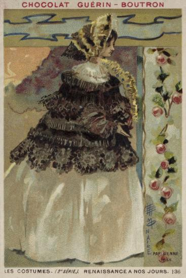 Parisian Fashion, 1855--Giclee Print