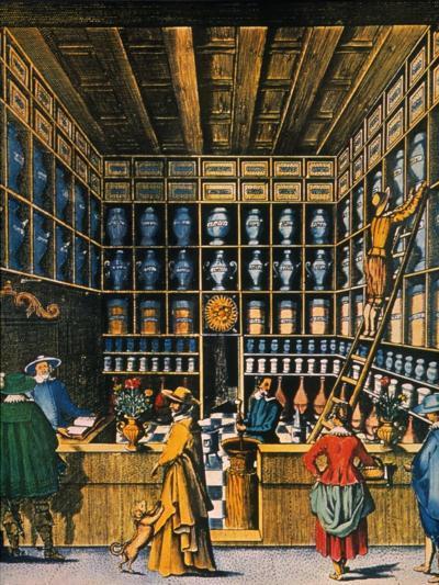 Parisian Pharmacy, 1624--Giclee Print