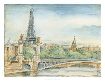 Parisian View-Ethan Harper-Premium Giclee Print