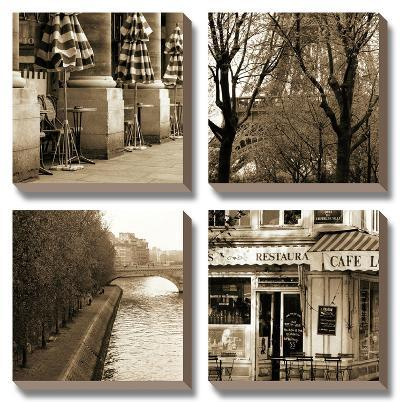 Parisien Moments-Marina Drasnin Gilboa-Canvas Art Set