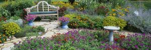 Park Bench in the Garden