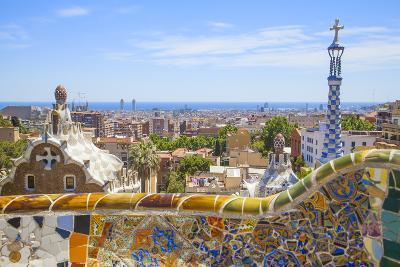 Park Guell in Barcelona-lorenzobovi-Photographic Print
