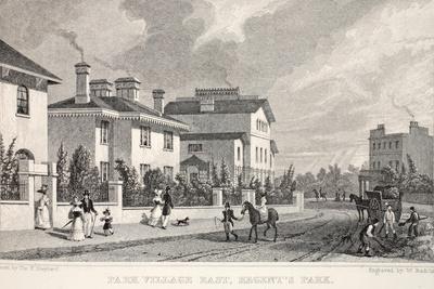 Park Village East-Thomas Hosmer Shepherd-Giclee Print