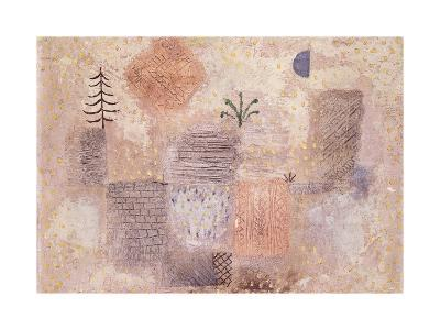 Park with the cool Crescent-Paul Klee-Giclee Print