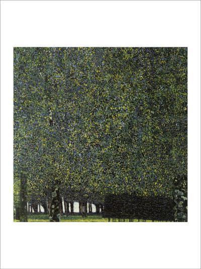 Park-Gustav Klimt-Giclee Print