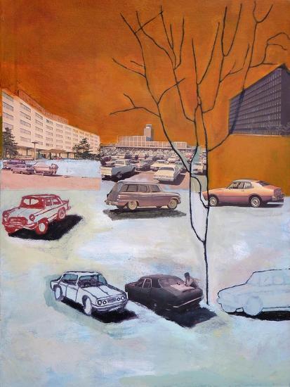 Parked, 2015-Anastasia Lennon-Giclee Print
