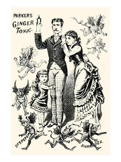 Parkers Ginger Tonic--Art Print