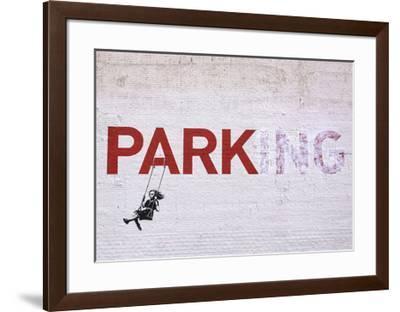 Parking-Banksy-Framed Giclee Print